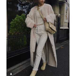 アメリヴィンテージ(Ameri VINTAGE)のamerivintage ✴︎reversible twin boa coat (ムートンコート)