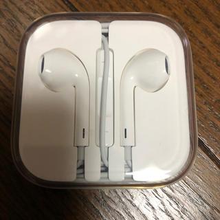 アップル(Apple)のiPhone イヤホン(ヘッドフォン/イヤフォン)