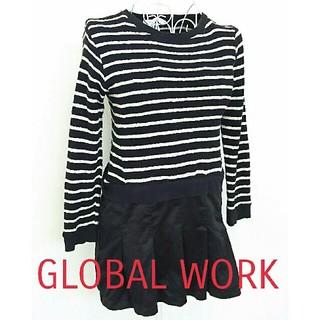 グローバルワーク(GLOBAL WORK)のグローバルワーク ワンピース 130(ワンピース)