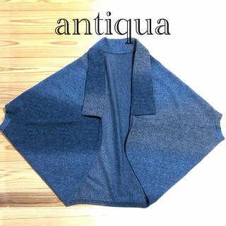 アンティカ(antiqua)のantiqua pattern torso 羽織り(その他)