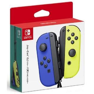 Nintendo Switch - 【新品】Switch Joy-Con ブルー/ネオンイエロー