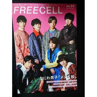 ジャニーズジュニア(ジャニーズJr.)のなにわ男子 メンズ校 FREECELL Vol.34(アート/エンタメ)