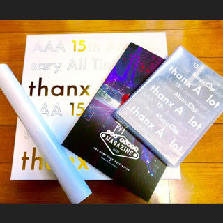 AAA - AAA 15th 限定版 8点セット(Blu-ray・CD他)