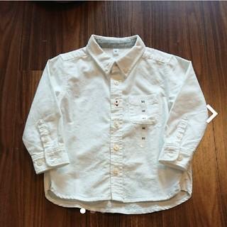 ムジルシリョウヒン(MUJI (無印良品))のボタンダウンシャツ 無印良品 90センチ(ブラウス)