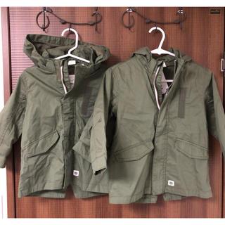 エイチアンドエム(H&M)のカーキ ジャケット パーカー(ジャケット/上着)