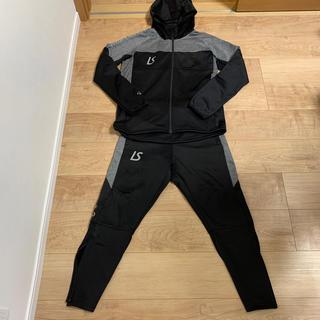 ルース(LUZ)のルースイソンブラ メンズ ジャージセットアップ S ブラック黒(ウェア)