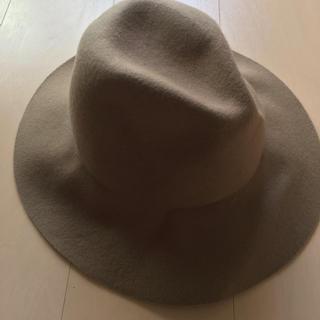 ビームス(BEAMS)の新品ハット 帽子 beams 毛100%(ハット)