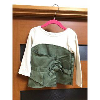セブンデイズサンデイ(SEVENDAYS=SUNDAY)のSEVENDAYS=SUNDAY 長袖Tシャツ キッズ用(Tシャツ/カットソー)