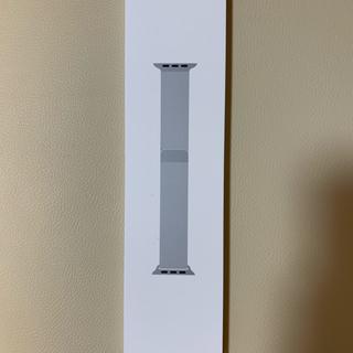 アップルウォッチ(Apple Watch)の【新品未開封】applewatch 44mm シルバーミラネーゼループ(その他)