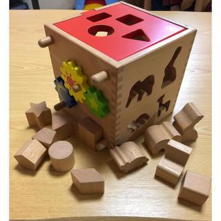 【12/6まで値下げ】パズルボックス 型はめ(積み木/ブロック)