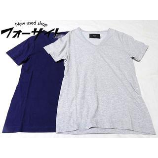ダブルジェーケー(wjk)のA42 wjk 1mile ワンマイル ◆ (S) 半袖 Tシャツ 2枚セット(Tシャツ/カットソー(半袖/袖なし))