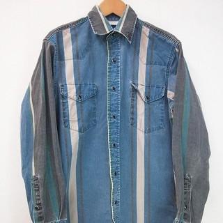 ラングラー(Wrangler)の実寸 S Wrangler ウエスタン シャツ ラングラー 古着 b327(シャツ)