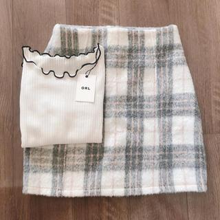 GRL - 新品✴︎カットソー&スカートのSET