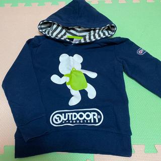アウトドアプロダクツ(OUTDOOR PRODUCTS)の男児 アウトドア パーカー 120(Tシャツ/カットソー)