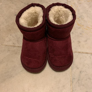プティマイン(petit main)のpetit main ムートンブーツ 14センチ(ブーツ)
