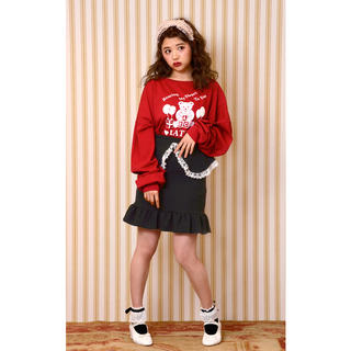 Katie - 美品 katie 【BAD TEA skirt】black