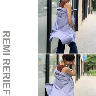 L'Appartement DEUXIEME CLASSE - アパルトモン REMI RELIEF  レミレリーフ シャツワンピース