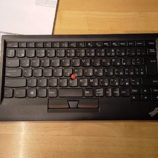 lenovo ワイヤレスキーボード 4Y40U90591(PC周辺機器)
