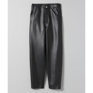 ジーナシス(JEANASIS)のvegan leather pants(クロップドパンツ)