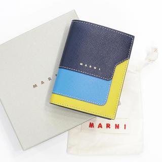 マルニ(Marni)の新品 マルニ 二つ折り財布 コンパクト バイフォールド バイカラー コインケース(財布)