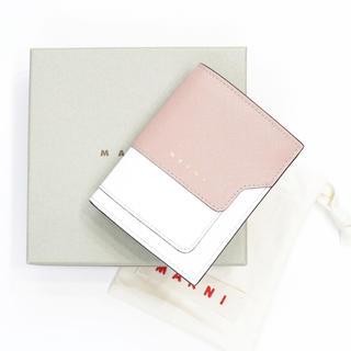マルニ(Marni)の新品 マルニ ミニ財布 二つ折り 豆財布 コインケース付き カードケース 人気(財布)