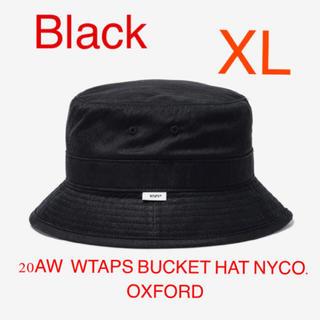 ダブルタップス(W)taps)のWTAPS BUCKET / HAT / NYCO. OXFORD 黒 XL(ハット)