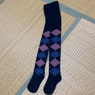 ジーユー(GU)のキッズ タイツ 105〜135cm(靴下/タイツ)