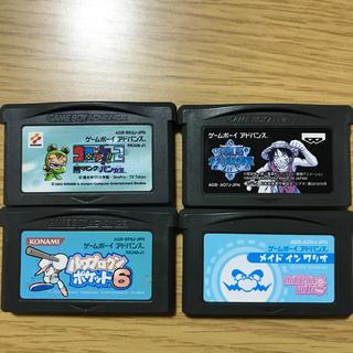 ゲームボーイアドバンス(ゲームボーイアドバンス)のGBAソフトセット(携帯用ゲームソフト)