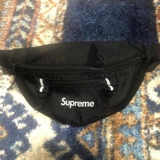 シュプリーム(Supreme)のSupreme 19ss Waist Bag 黒(ウエストポーチ)