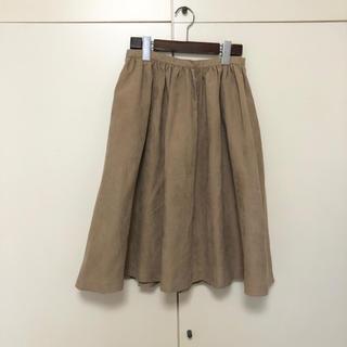 ドアーズ(DOORS / URBAN RESEARCH)のアーバンリサーチドアーズ  ギャザースカート(ひざ丈スカート)