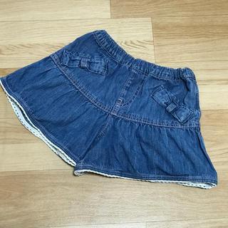 サンカンシオン(3can4on)の3can4on サンカンシオン 女の子 キュロットスカート ショートパンツ120(パンツ/スパッツ)
