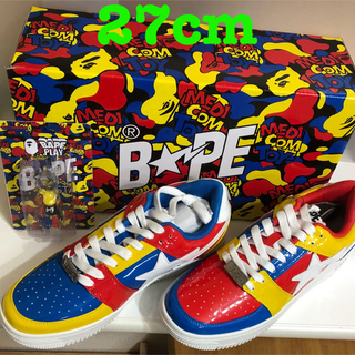 メディコムトイ(MEDICOM TOY)のMEDICOM TOY BAPE STA LOW 27cm(スニーカー)
