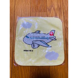 ジャル(ニホンコウクウ)(JAL(日本航空))のBoeing 787-8 JAPAN AIRLINES ハンカチ(ハンカチ)