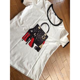 クリスチャンディオール(Christian Dior)のDior バッグ Tシャツ(Tシャツ(半袖/袖なし))