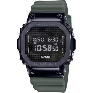 ジーショック(G-SHOCK)のカシオ G-SHOCK メタルケース 腕時計 ダークグリーン(腕時計(デジタル))