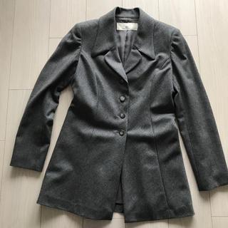 カールラガーフェルド(Karl Lagerfeld)のカールラガーフェルドジャケット グレー 毛90%(テーラードジャケット)