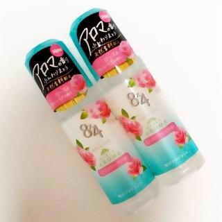 カオウ(花王)のエイトフォー 8×4 アロマ ロールオン ローズ&ヴァーベナの香り 45ml(制汗/デオドラント剤)