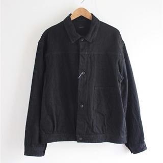 コモリ(COMOLI)の20aw comoli デニムジャケット ブラック コモリ(Gジャン/デニムジャケット)