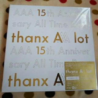 トリプルエー(AAA)の新品未再生 AAA 15th Best  初回生産限定盤 CD5枚組 ポスター付(ポップス/ロック(邦楽))
