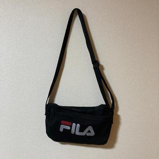 フィラ(FILA)のFILA サコッシュ ブラック ショルダーバッグ(ショルダーバッグ)