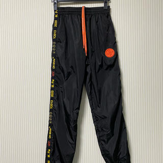 オフホワイト(OFF-WHITE)のoff-white black nylon track pants(その他)
