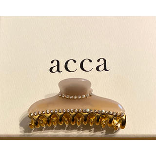 acca - acca   アッカ ダブルコラーナ ベージュ 希少 クリップ 中サイズ