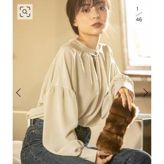 Noble - 【Asami Nakamura×NOBLE】2WAYチョーカー風ネックブラウス