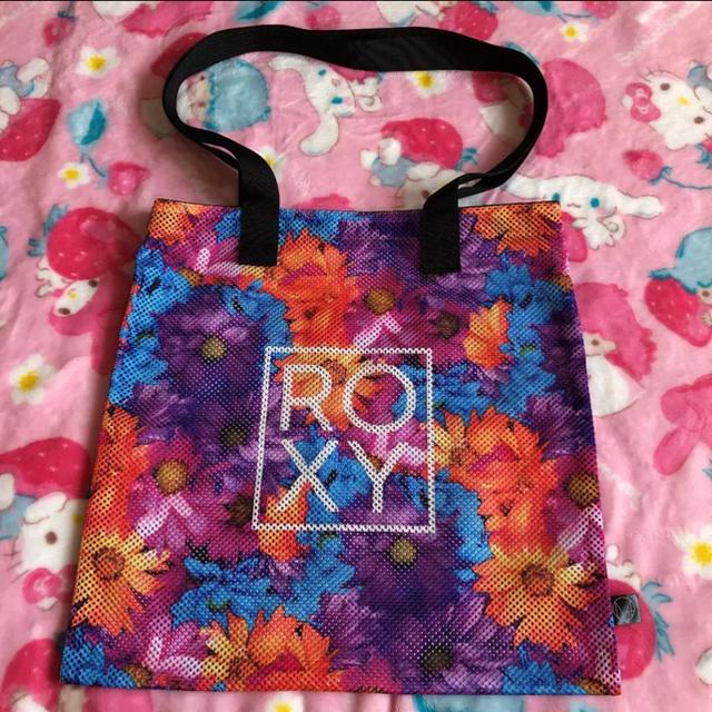 Roxy(ロキシー)のROXY ビーチトートバッグ 蜷川美花 コラボ レディースのバッグ(トートバッグ)の商品写真