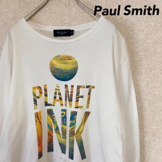 ポールスミス(Paul Smith)のポールスミス ジーンズ 長袖 Tシャツ 古着 ロンT メンズ レディース L(Tシャツ/カットソー(七分/長袖))