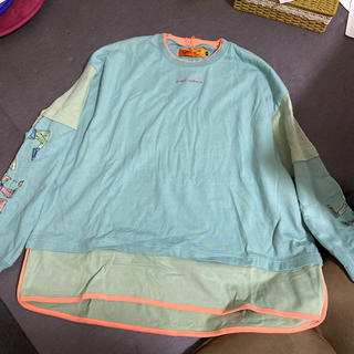 ハレ(HARE)のLEFT ALONE Lサイズ(Tシャツ/カットソー(七分/長袖))