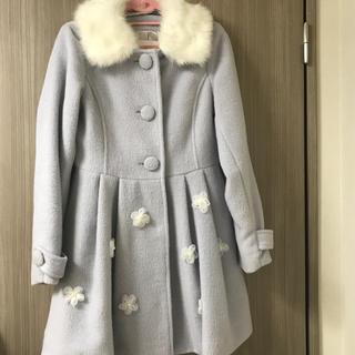 リズリサ(LIZ LISA)のファー付きコート(毛皮/ファーコート)