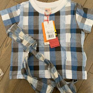 クリフメイヤー(KRIFF MAYER)のクリフメイヤー✲新品未使用✲ストール付きTシャツ(Tシャツ/カットソー)