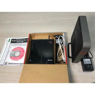 バッファロー 無線LANルーター 2個セット