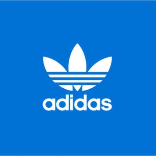 adidas - 【ラスト1点】adidas M/Lサイズ ブルー 1枚